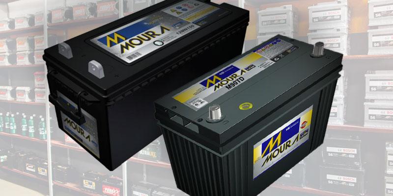 A diferença entre bateria estacionária e automotiva