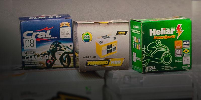 Baterias de motocicleta